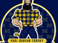 University of Michigan Paul Bunyan Trophy
