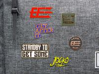 Pin mockups for Echelon Front
