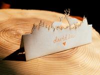 Deerly Beloved Namecards
