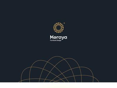 Meraya - Brand interior illustration vector branding alogo advertising logodesign brand logos logo