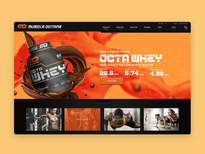 Muscle Octane Web Design
