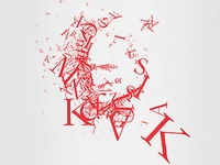 M. Kemal Ataturk Typography