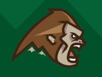 Bigfoot Team Mascot Logo Concept