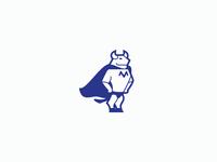 Bull Hero Logo Concept