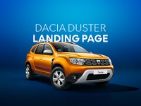 Dacia Duster Landing Page