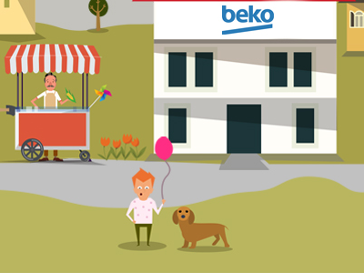Beko TV Technologies vibons beko motion graphics