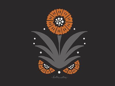 Flower Sketch 1 botanical art procreate botanical drawing botanicals pattern procreate app art drawing nature flowers illustration digital illustration graphic design design