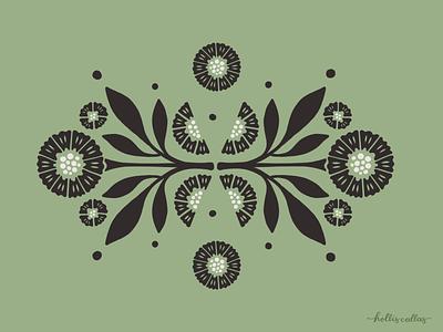Flower Study 2 botanical logo sketch digital art botanical art botanical floral pattern procreate app drawing nature flowers illustration digital illustration graphic design design