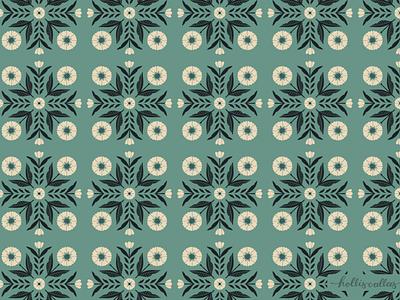 Balance florals wallpaper botanical art repeat pattern pattern flowers illustration digital illustration graphic design design