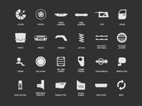 Jeep Item Options - Iconography