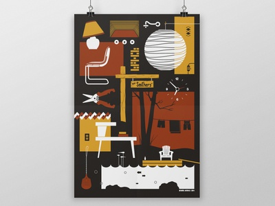 Cottage Series Poster