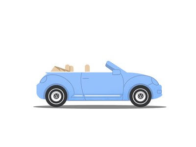 Bug life volkswagon car procreate illustration digitalart digital illustration bug