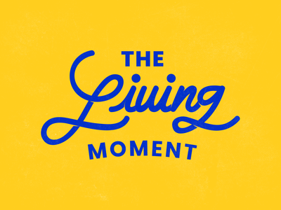 The Living Moment Wordmark