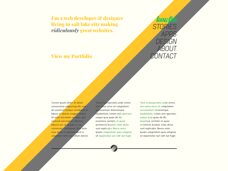 Kowfmv13 001 003 branding redesign design art code ghost theme blog