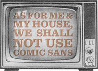As For Me & My House...