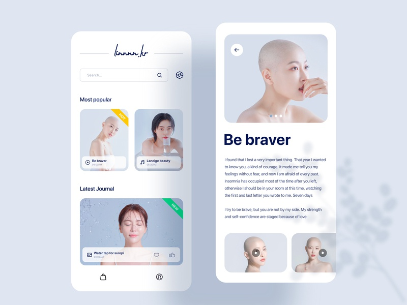 Photographer concept app products linnnn.kr app products vector natural 设计 ui