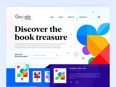 Google books online e-reading official website design ux reading bookstore books google books branding uiux web design 应用界面设计 ui