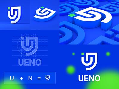 ueno brand logo design logodesign brand logo design ueno