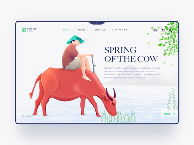 Spring of the cow