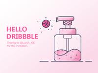 Hello Dribbble~