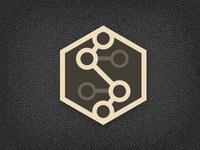 Subatomic Pixel logo Concept