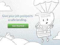 Resume Service Hero Graphic