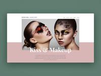 Makeup artist - Wix template