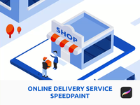 Online Delivery Service Speedpaint