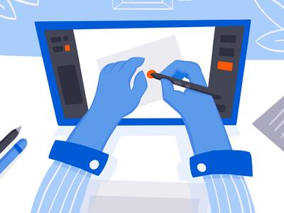 Graphic Design Illustration drawing on tablet procreate ipadpro tablet web uxui minimalistic flat illustration graphic design