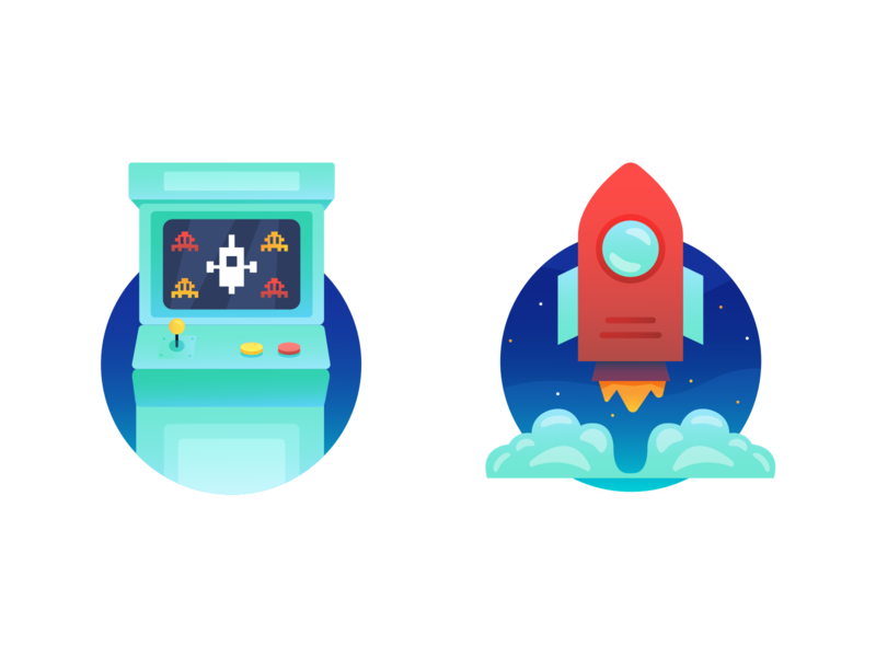 Test it and Go Live Flat Illustrations saas software go live test character character design vector ipad pro illustration procreate flat illustration