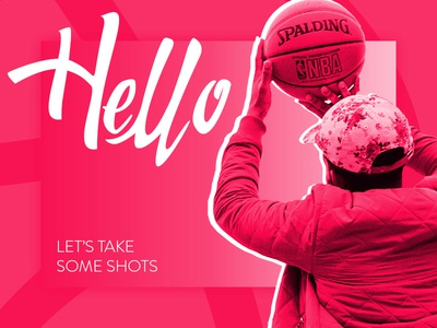Urbansoul Design Debut Shot basketball manchester digital dribbble debut