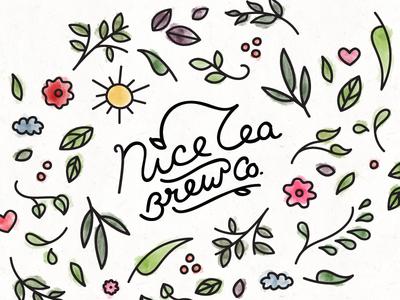 Nice Tea illustrations