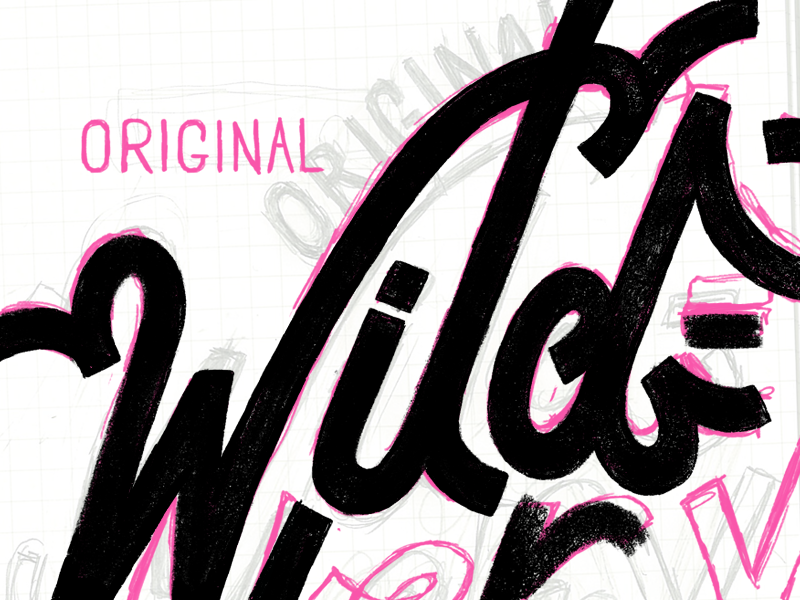 a wild WIP approaches~ type wip wild rough