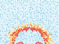 Geometricskull iphone wallpaper