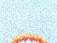 Geometricskull iphone5 wallpaper