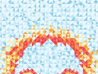 Geometricskull iphone wallpaper close