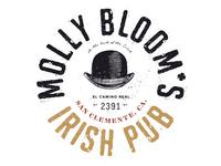 Molly Bloom's Pub Logo