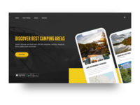 Campfindy Landing Page