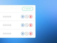 Dashboard - UI Elements