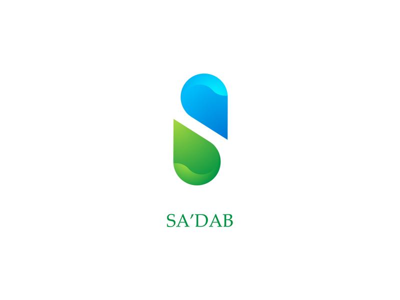 sa'dab identity design graphic design logo design logo brand design branding design