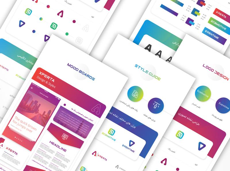 Ecomotive ,Eventime & Experta Startups graphic deisgn design brand logo logo design graphic design identity design brand design branding