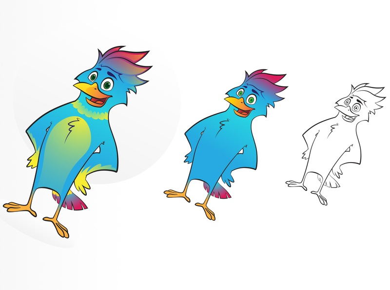 Keyhanak character mascot vector illustration