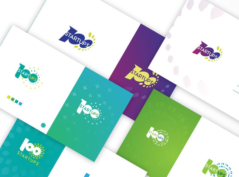 100 startups brand graphic design logo design logo design identity design branding brand design