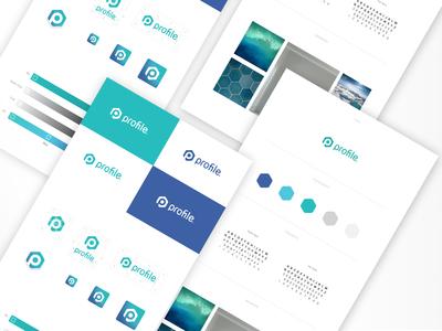 profile Visual identity icon logo design logo graphic design identity design design branding brand design