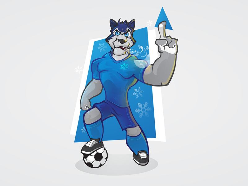 huskies mascot mascot illustration identity design design branding brand design