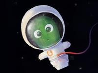 Cactus in space