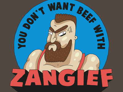 ZANGIEF russian wrestler zangief streetfighter