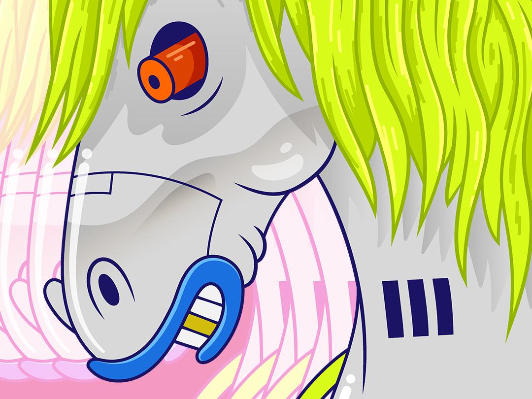 Pony illustration horse pony