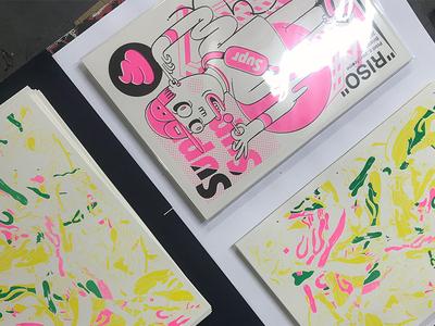 Riso print WIP