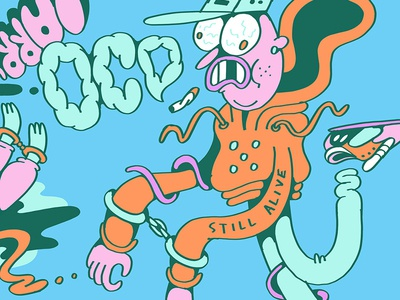 Still Alive procreate illustration drawing art